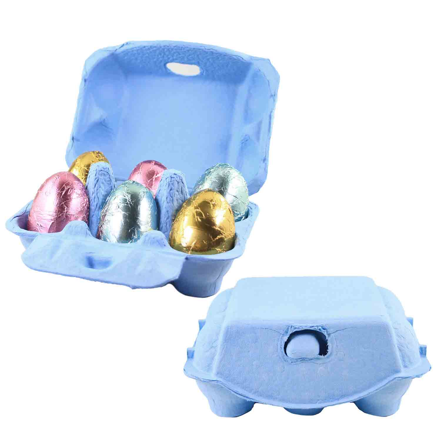 Baby Blue 6-Egg Carton