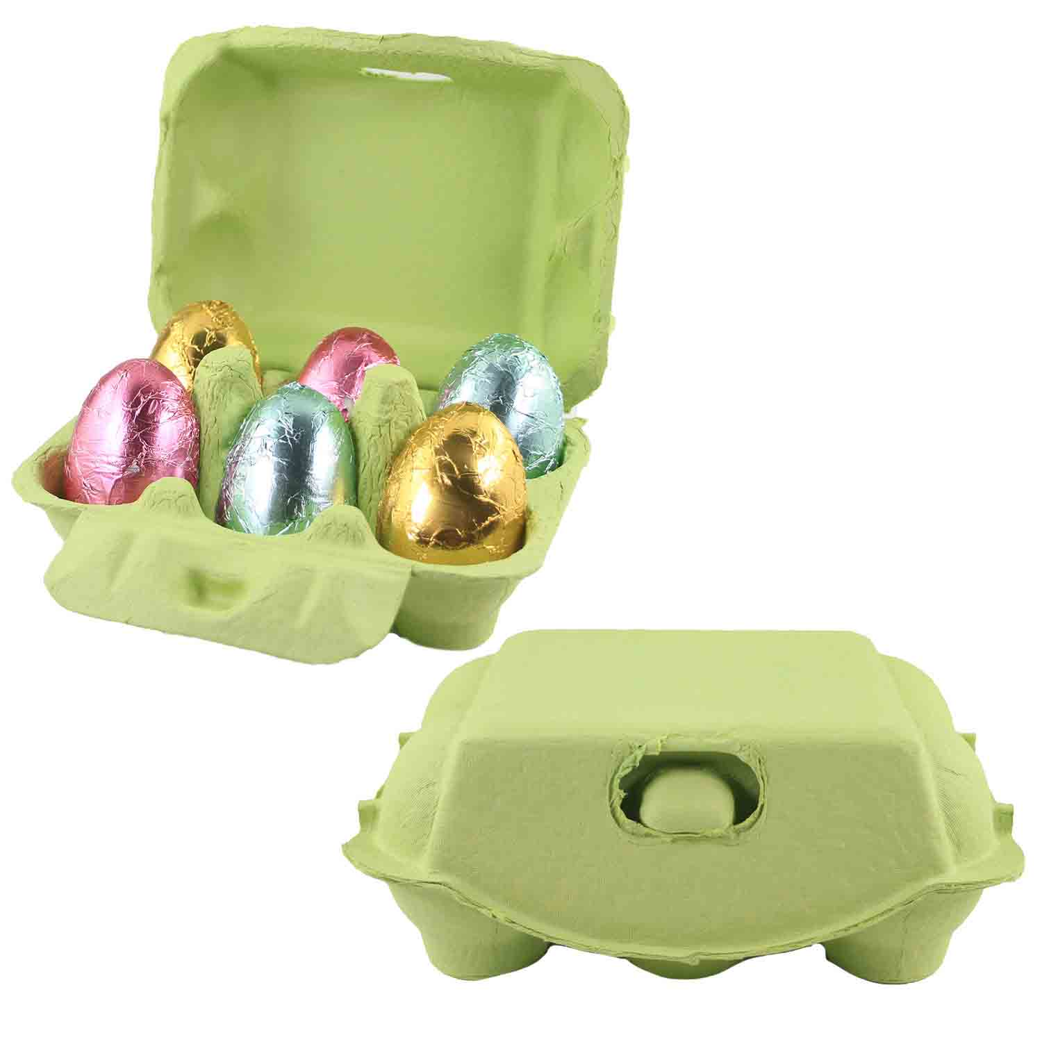 Lime 6-Egg Carton