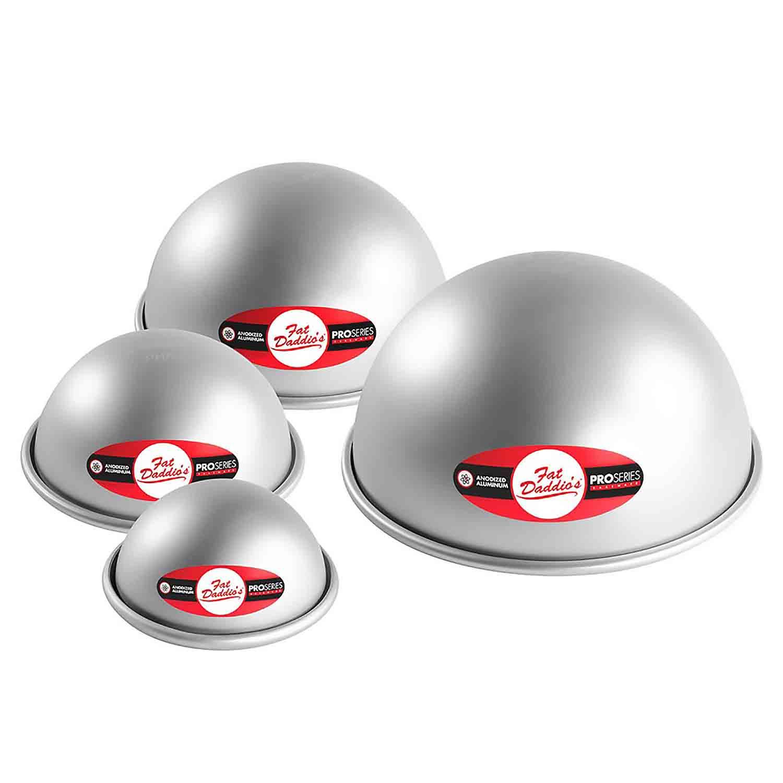 Hemisphere Ball Pan- 3 1/2