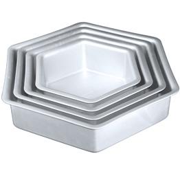 """Hexagon Cake Pan-8"""" x 2"""""""