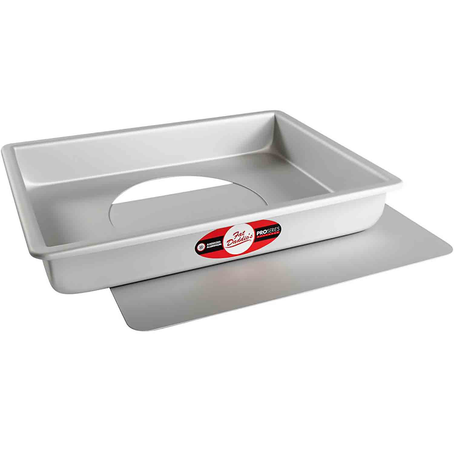 "9"" x 13"" x 2"" Quarter Sheet Cheesecake Pan"