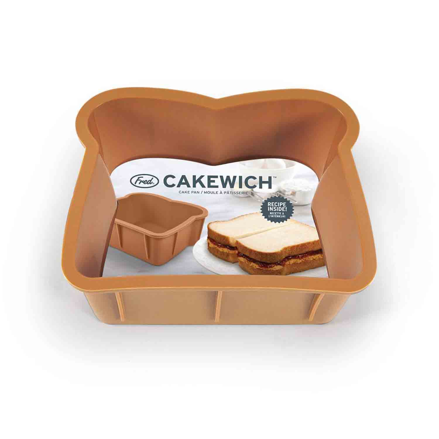 Cakewich Sandwich Silicone Cake Pan