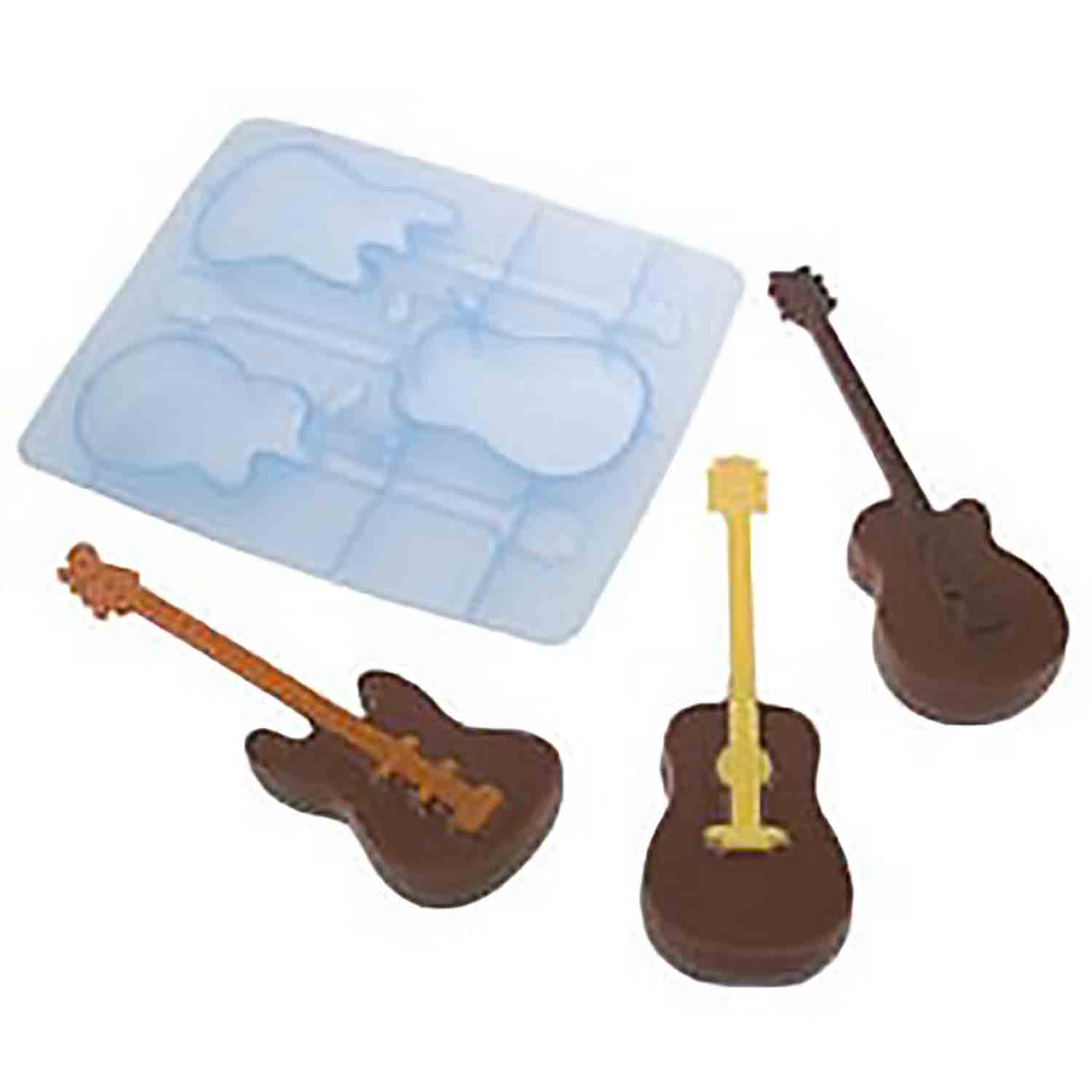 Guitar - Silicone Ice and Candy Mold