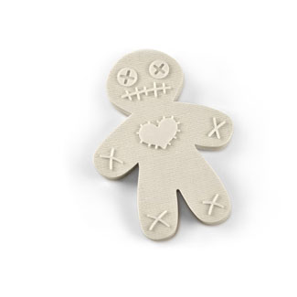 Voodoo Doll Cookie Cutter Stamp