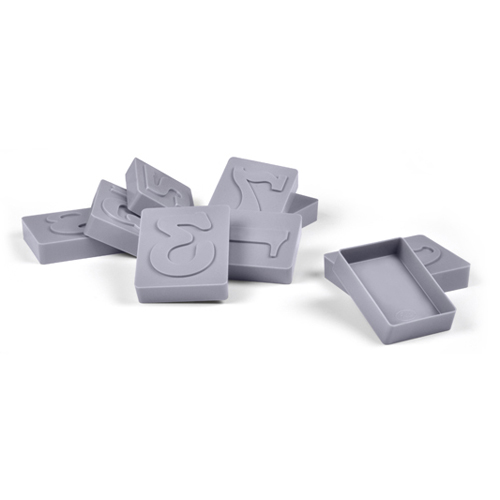 Number Cookie Cutter Stamp Set