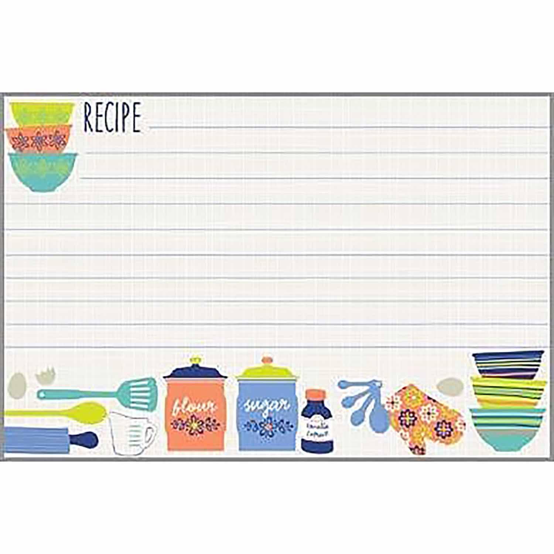 Kitchen Design Recipe Cards