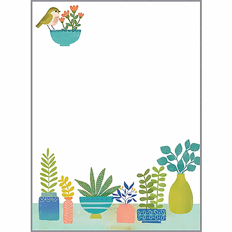 Houseplant Memo Pad
