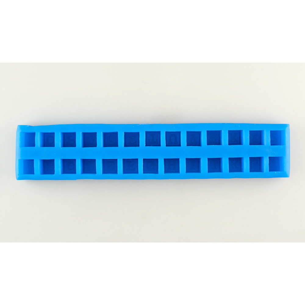 Alphabet Blocks Silicone Mold