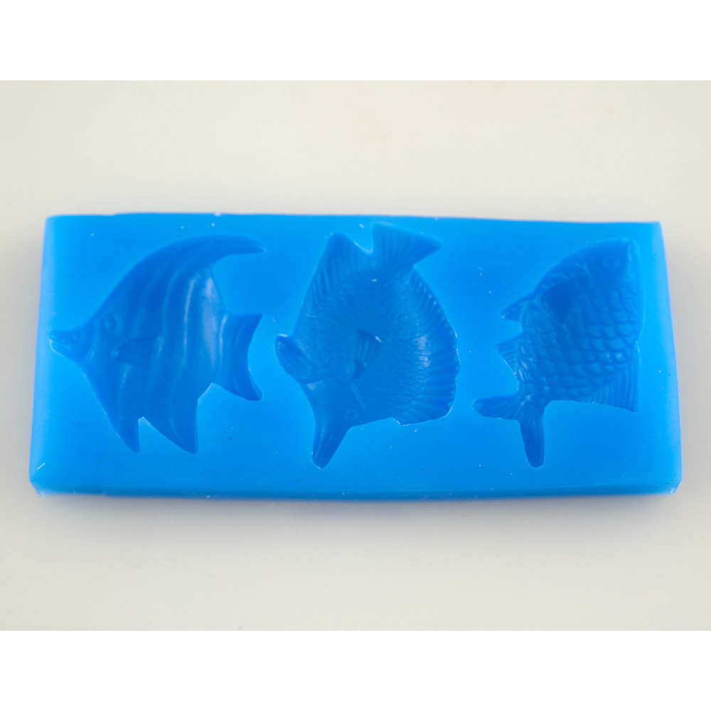 Fish Trio Silicone Mold