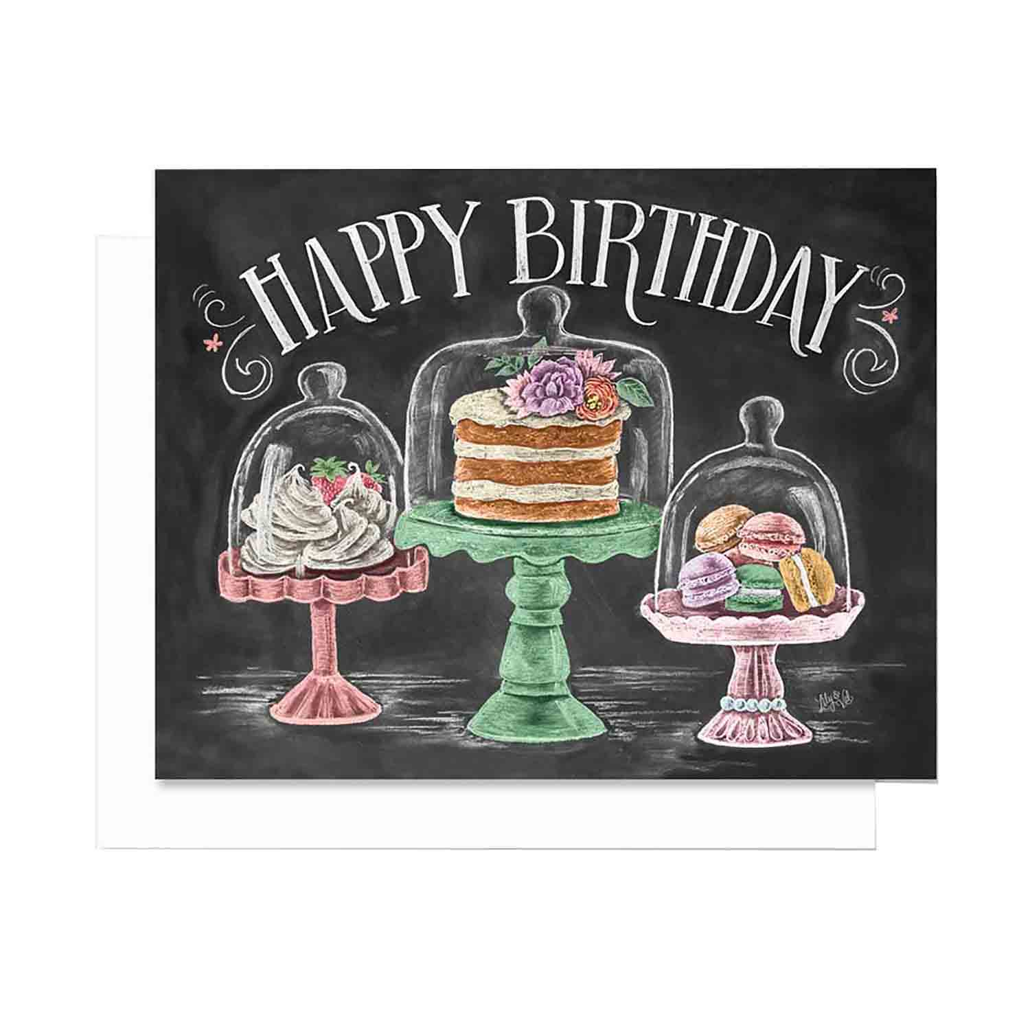 Happy Birthday Treats - Notecards