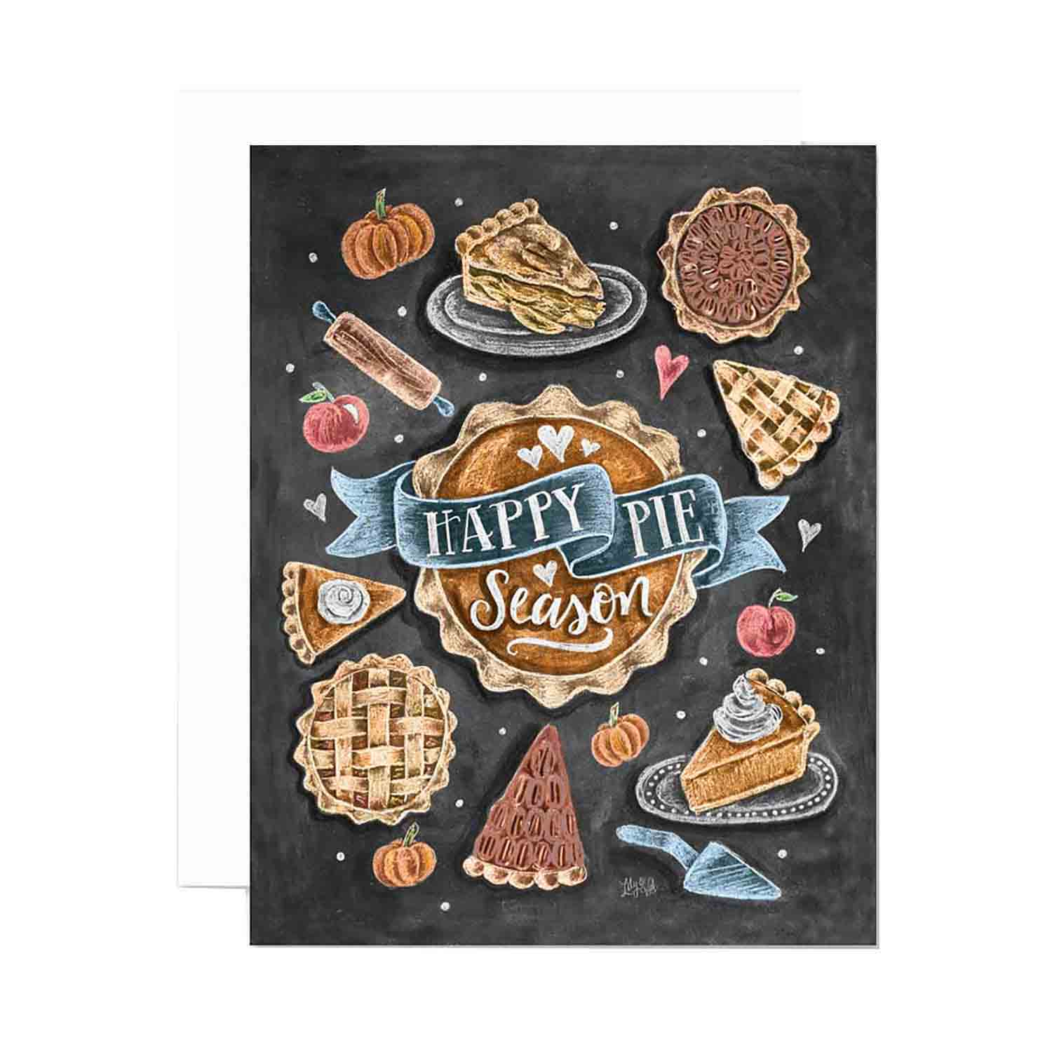 Happy Pie Season - Notecards