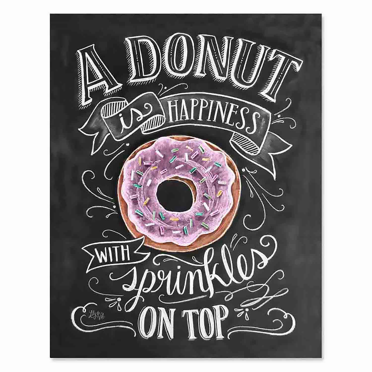 Donut Happiness - Print