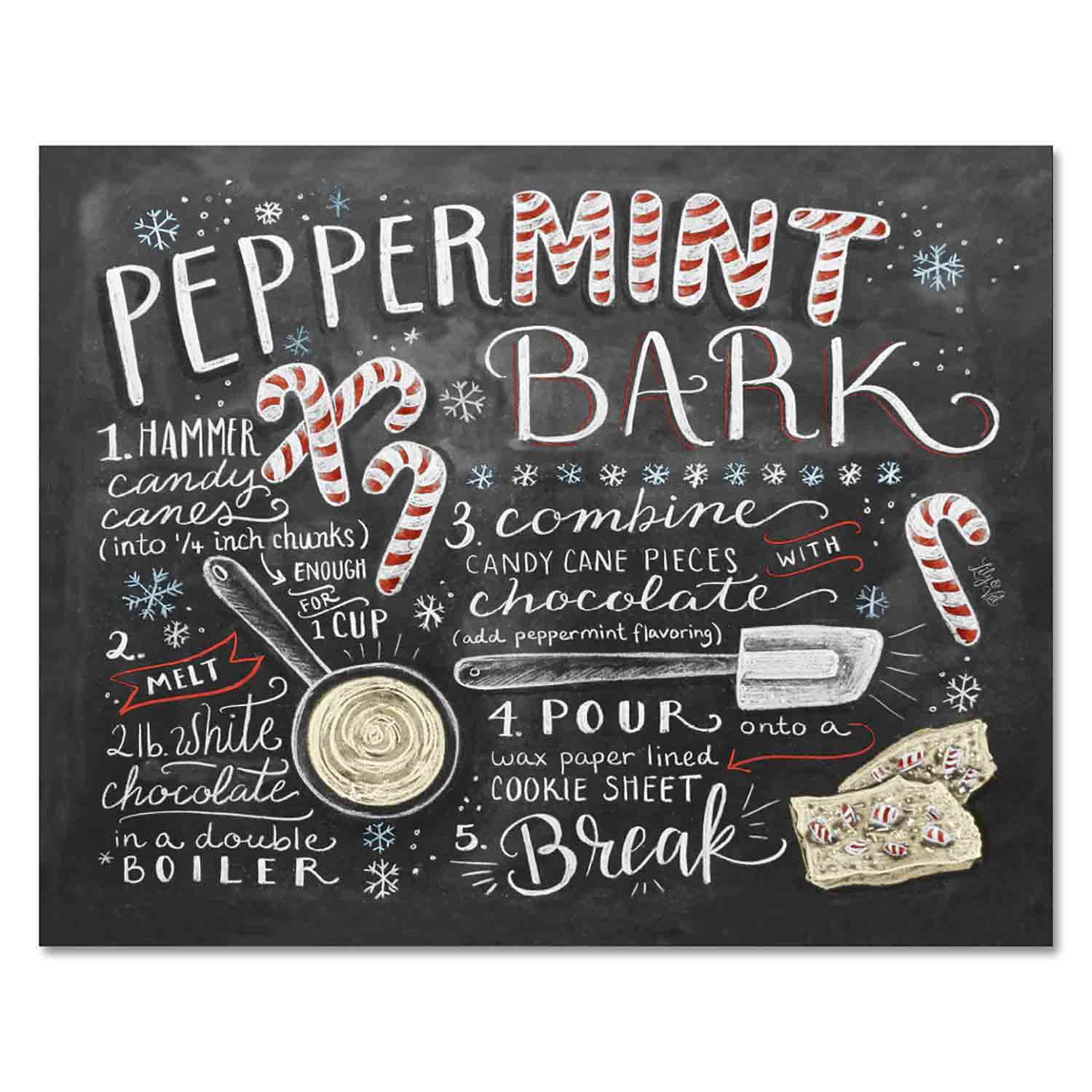 Peppermint Bark - Print