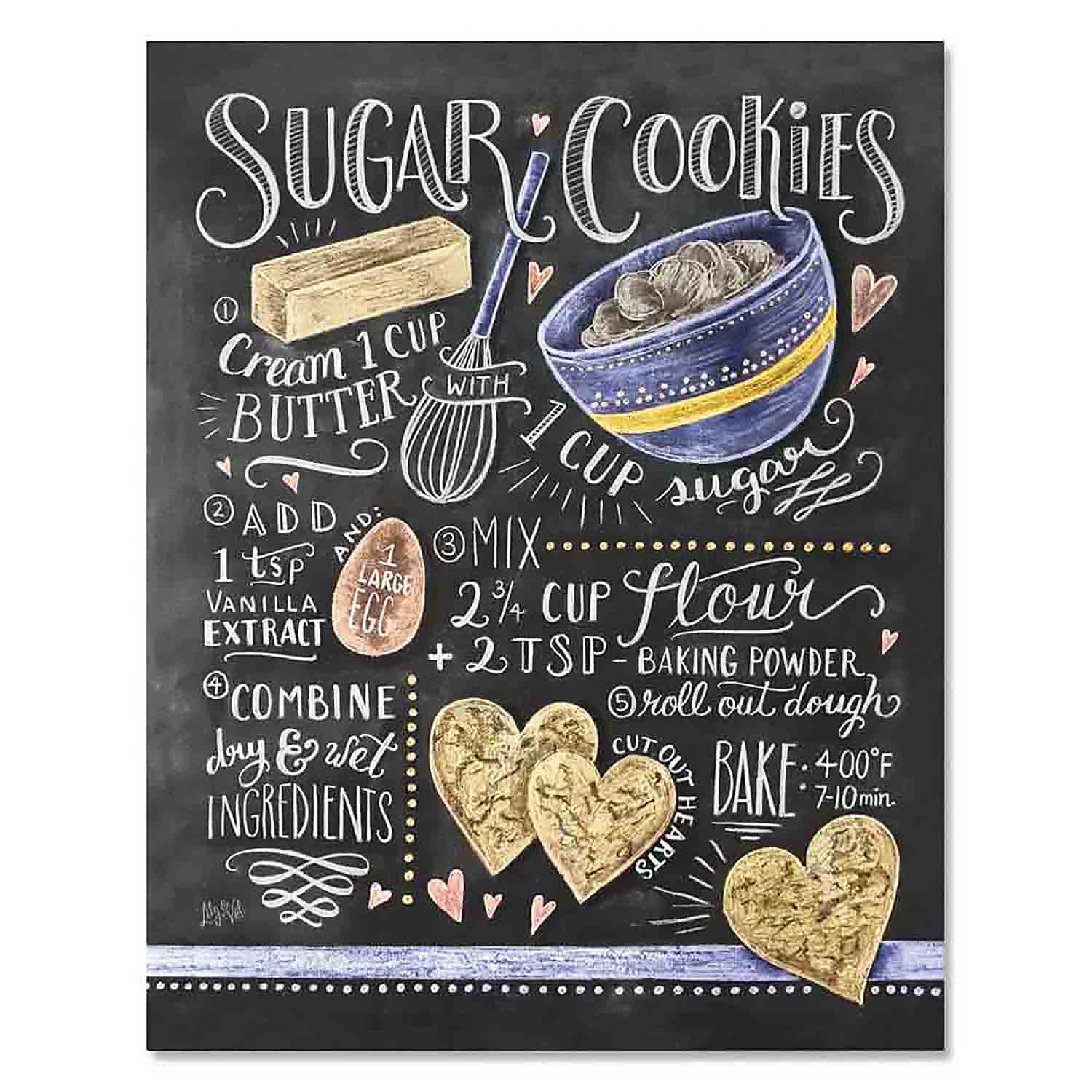 Sugar Cookie Recipe - Print