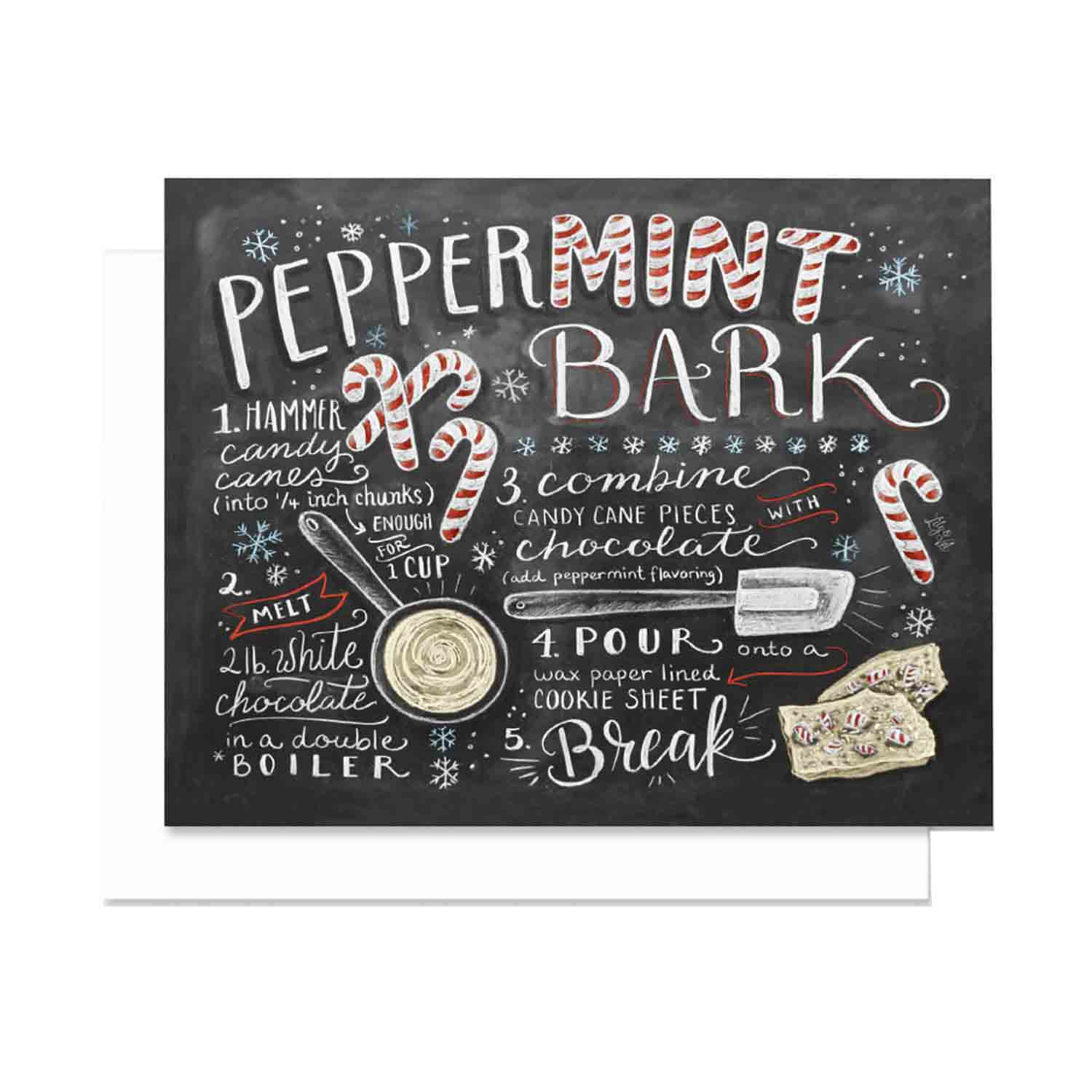 Peppermint Bark - Notecards