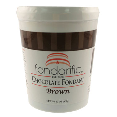 Chocolate Fondarific Rolled Fondant