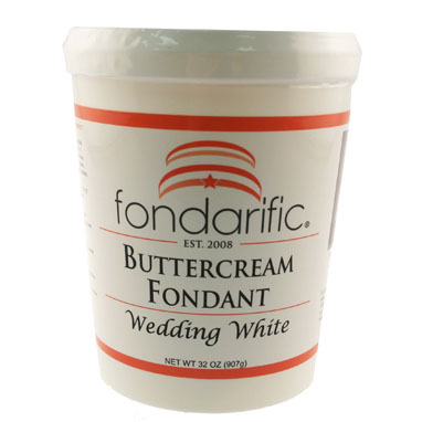 Wedding White Fondarific Rolled Fondant