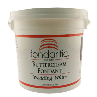 Wedding White Fondarific Rolled Fondant