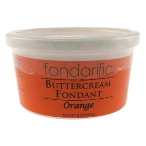 Orange Fondarific Rolled Fondant