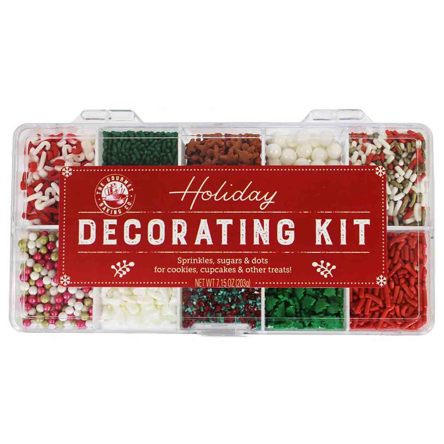 Holiday Sprinkle Decorating Kit