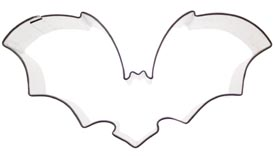 Scary Bat Cookie Cutter