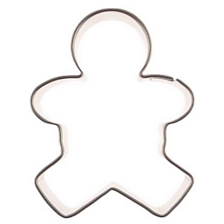 Mini Gingerbread Boy Cookie Cutter