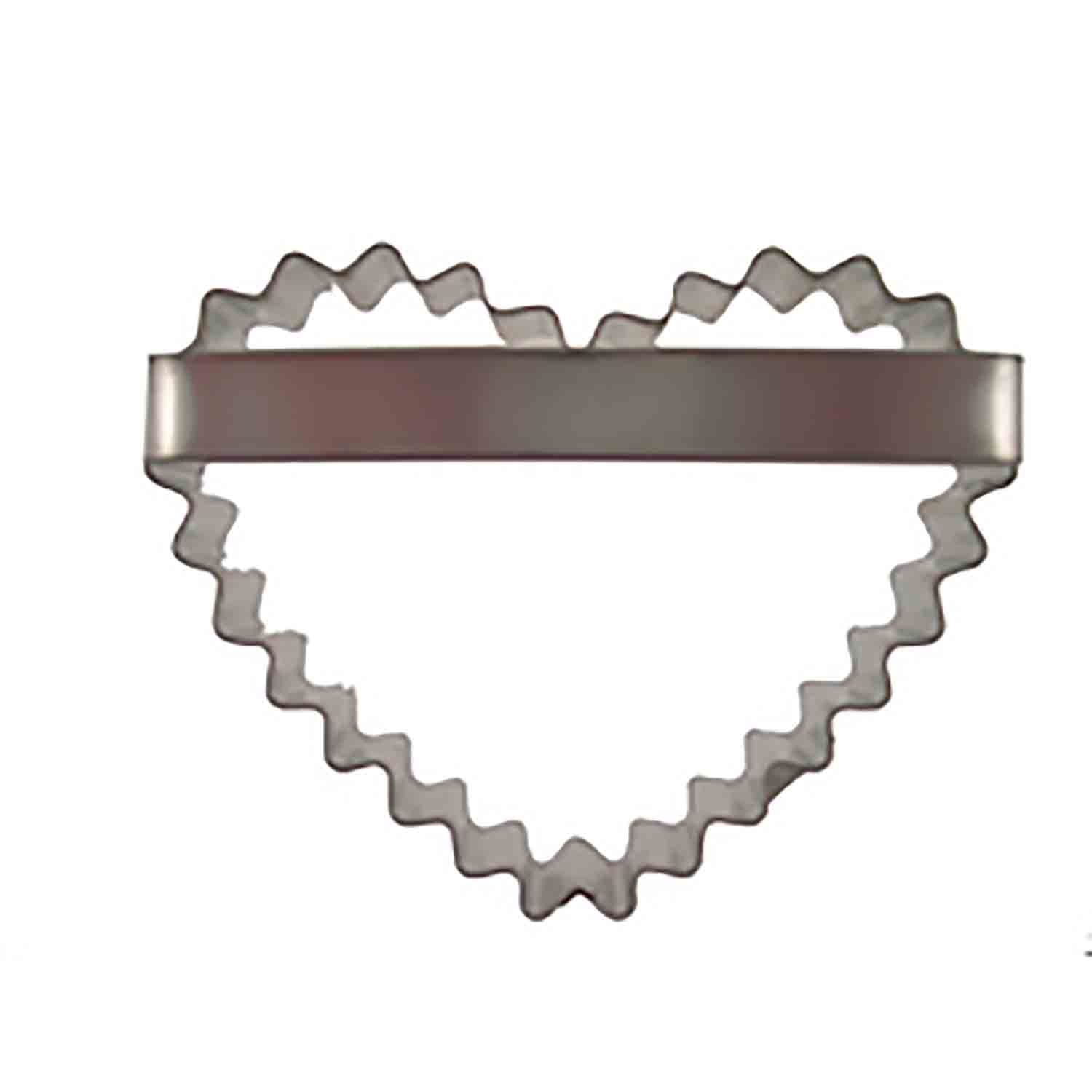 Crinkled Heart Cookie Cutter