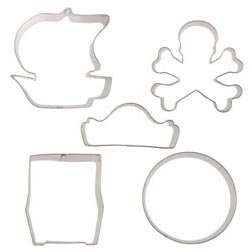 Pirate Treasure Cookie Cutter Set