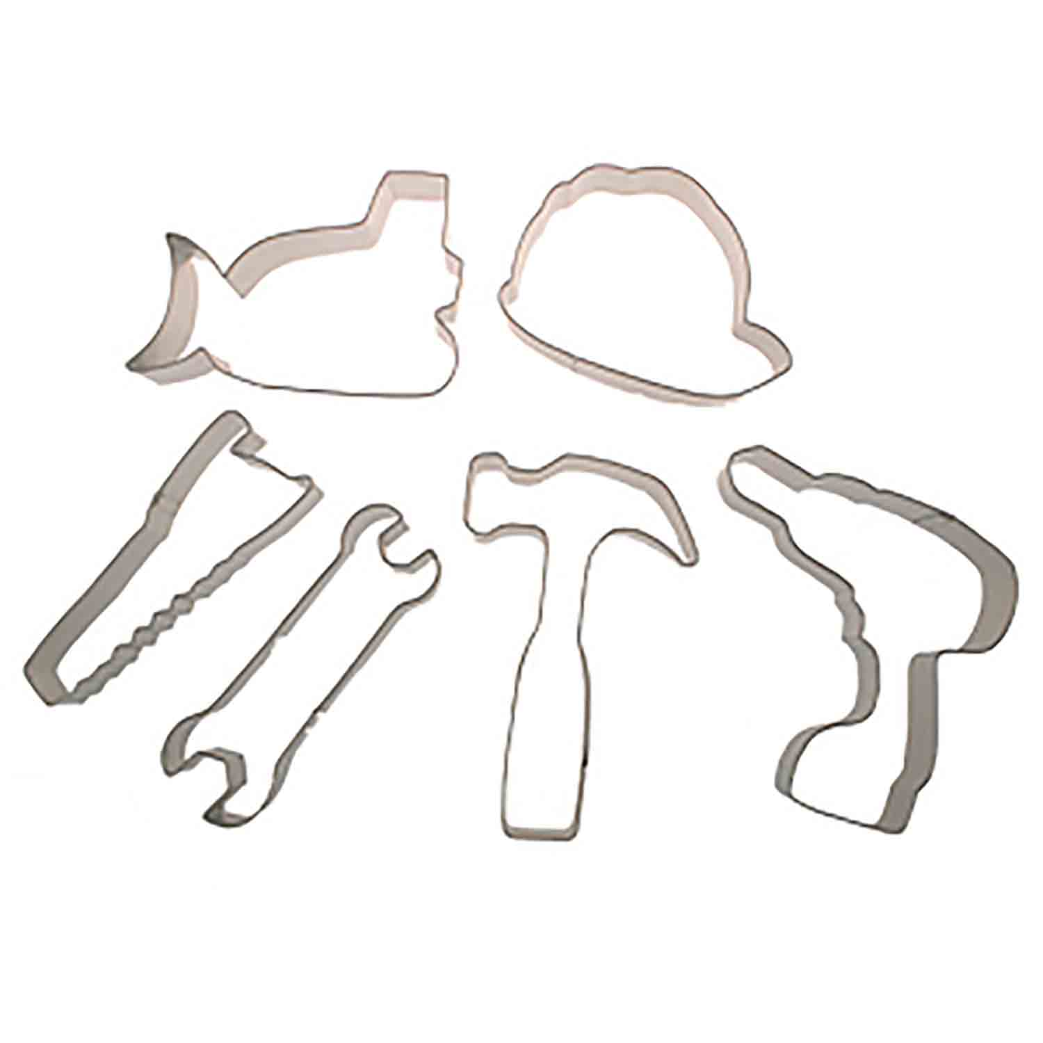Construction Cookie Cutter Set