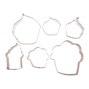 Cupcake Cookie Cutter Set