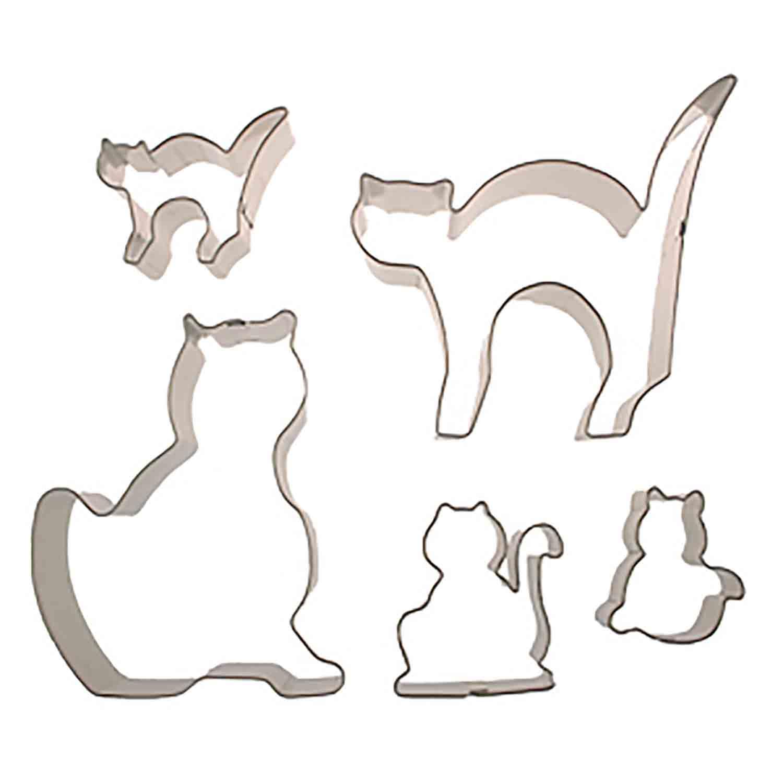 Cats Cookie Cutter Set