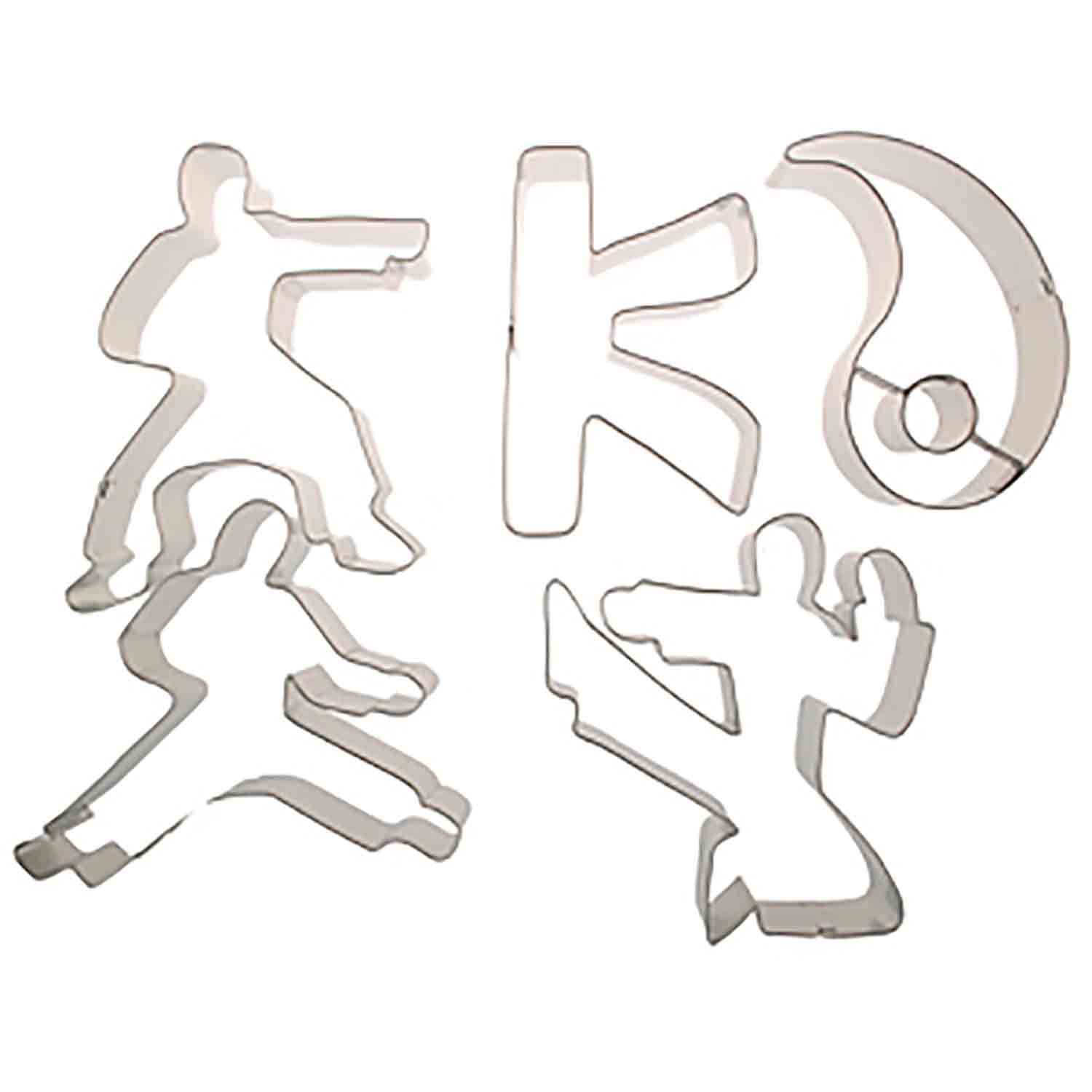 Karate Cookie Cutter Set