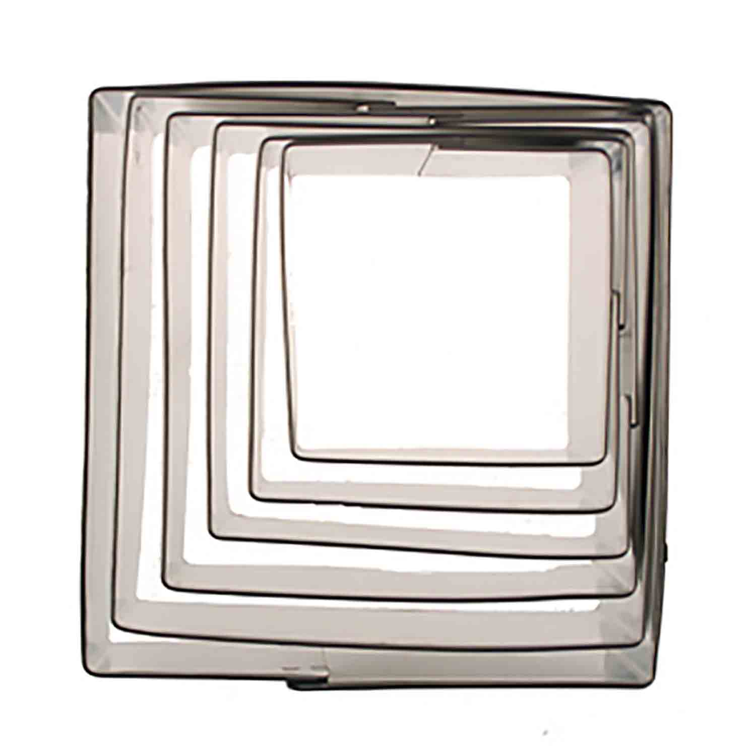 Square Cookie Cutter Set