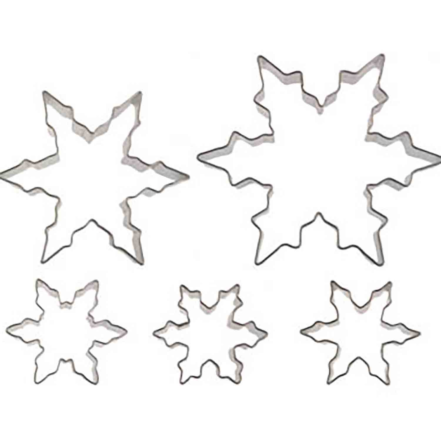 Snowflakes Cookie Cutter Set