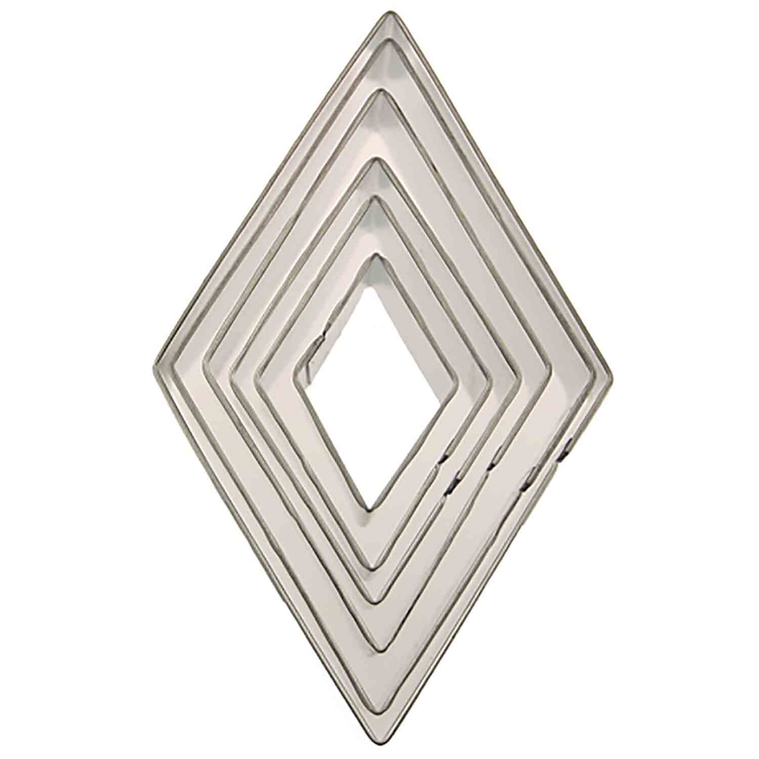 Diamond Shaped Cookie Cutter