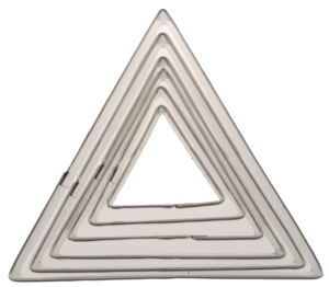 Triangle Cookie Cutter Set
