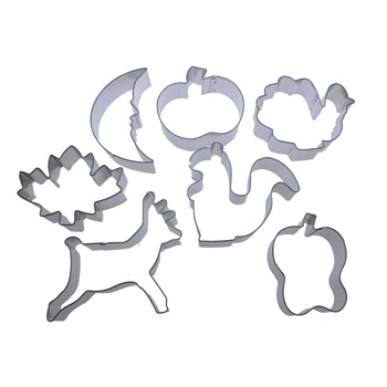 Fall Cookie Cutter Set