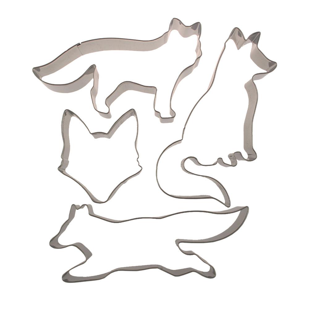 Fox Cookie Cutter Set