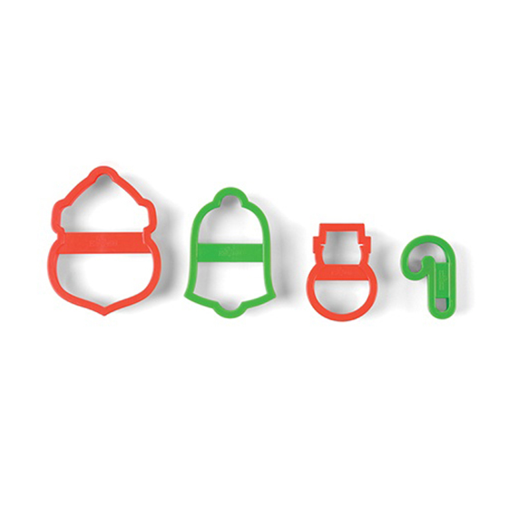 Nesting Santa Cookie Cutter Set