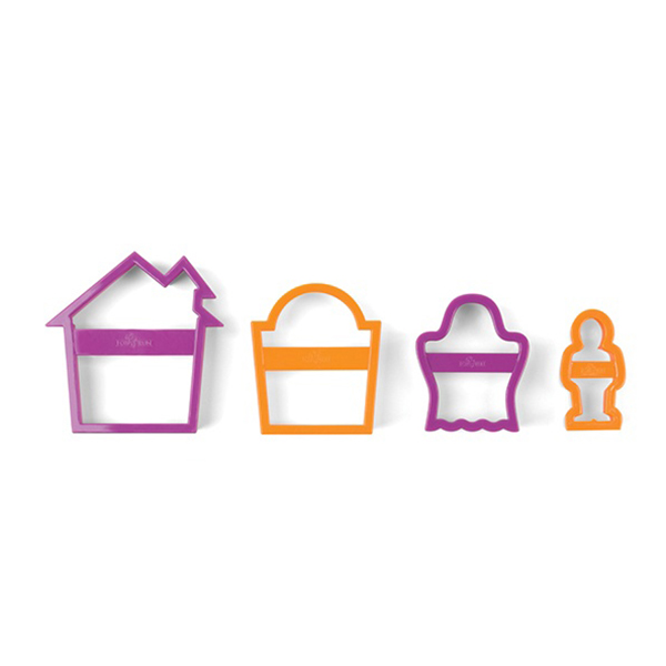 Nesting Haunted House Cookie Cutter Set