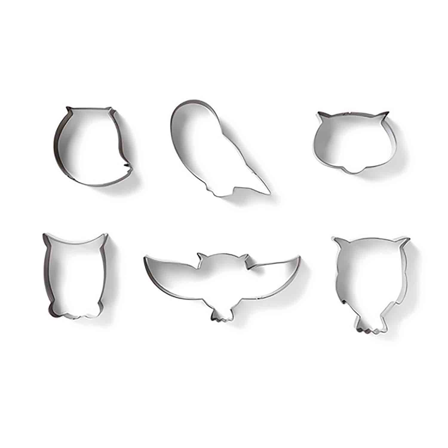 Owl Cookie Cutter Set