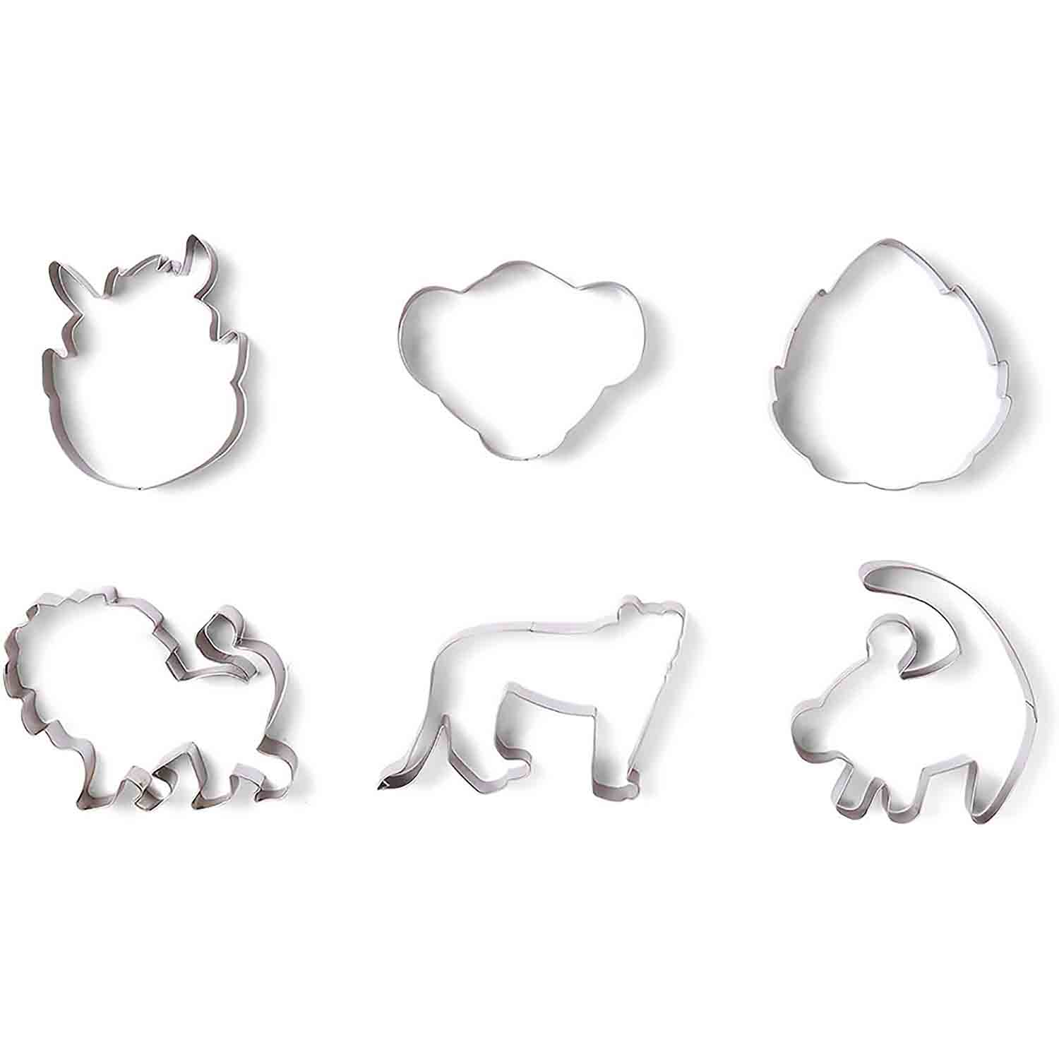 King of Savanna Cookie Cutter Set