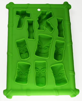 Tiki Silicone Ice and Chocolate Mold