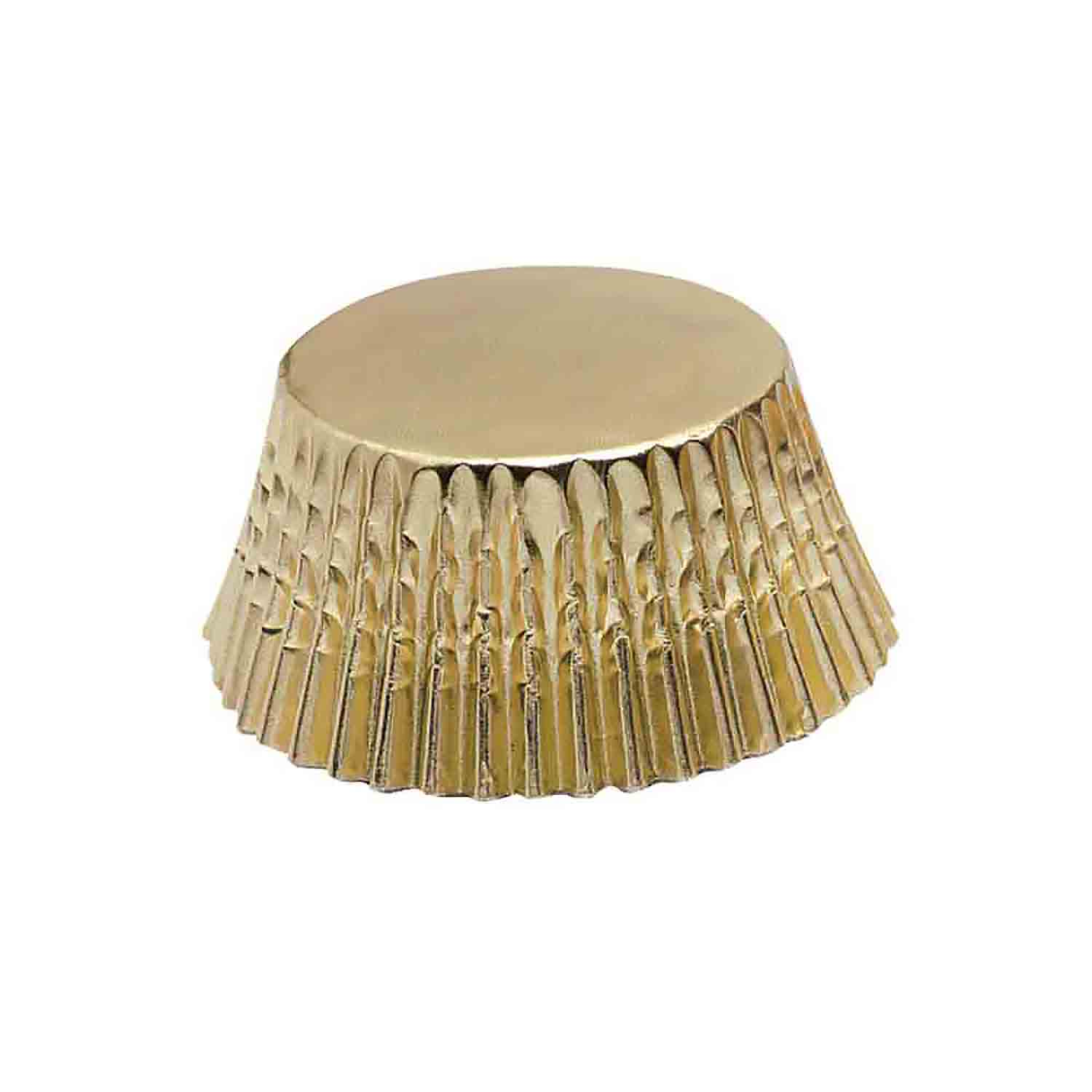 Country Kitchen Fort Wayne: Gold Foil Mini Baking Cups - FR-6970