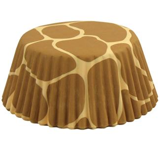 Giraffe Print Standard Baking Cups