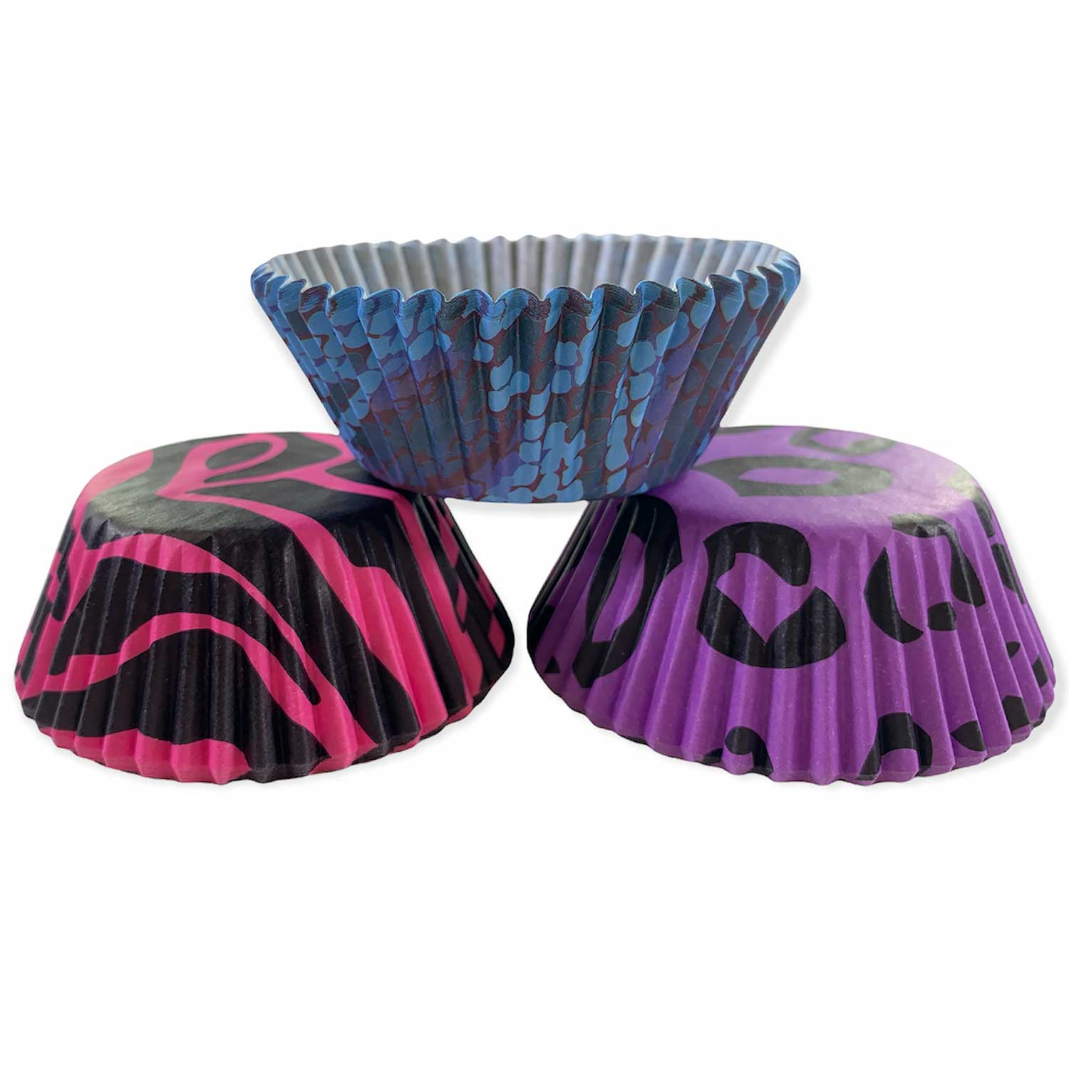 Funky Animal Print Standard Baking Cups