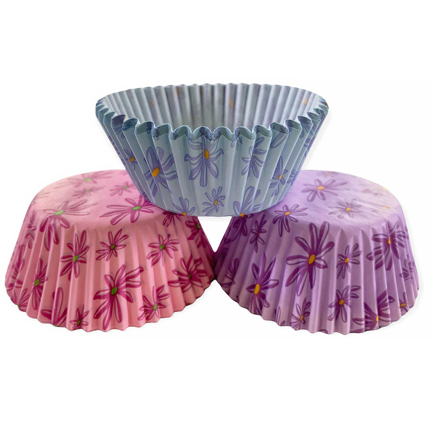 Floral Standard Baking Cups