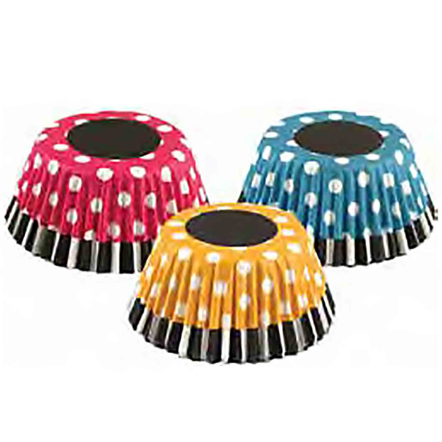 Retro Polka Dots Standard Baking Cups