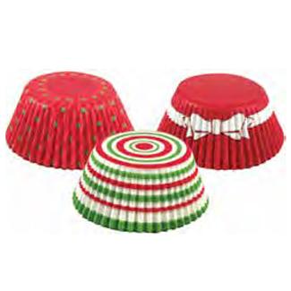 Christmas Circles Standard Baking Cups
