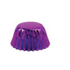 Purple Foil Candy Cups